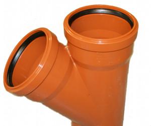 Abwasserrohre