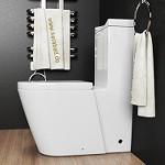 Stand-WC mit Lotuseffekt