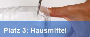 Hausmittel für verstopften Abflussim Klo