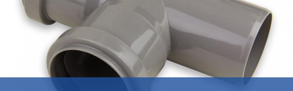 Toilettenabflussrohr Abzweigung